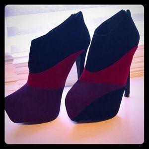 Qupid- suede heels - 7